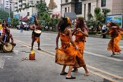Het festival van de werelderfenis in Chengdu, China Stock Fotografie