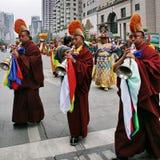 Het festival van de werelderfenis in Chengdu, China Stock Foto's