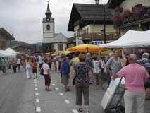 Het Festival van de wijn Stock Fotografie