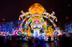 Het Festival van de Zigonglantaarn Royalty-vrije Stock Afbeeldingen