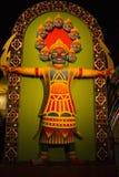 Het festival van Durgapuja in Calcutta in India-ravana Royalty-vrije Stock Foto's