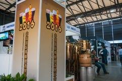 Het festival van het ambachtbier in Shanghai Stock Afbeelding
