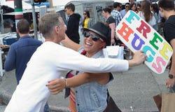 2014 het Festival van het het Noordenstrand in San Francisco Stock Fotografie