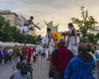 Het festival van het straattheater Stock Foto