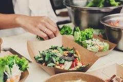 Het festival van het straatvoedsel, levering, de richtende dienst Royalty-vrije Stock Afbeeldingen