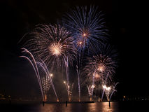 Het Festival van het vuurwerk, Singapore Royalty-vrije Stock Afbeeldingen