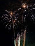 Het festival van het Vuurwerk van de zomer Stock Fotografie