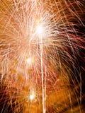 Het festival van het Vuurwerk van de zomer Stock Foto