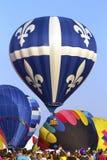 Het festival van hete luchtBallons in Quebec Royalty-vrije Stock Foto's