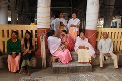 Het Festival van Holi aan de Mensen Manipuri Stock Foto's