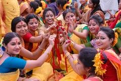 Het Festival van Holi van Kleuren Royalty-vrije Stock Foto
