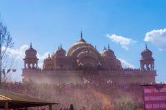 Het Festival van Holi van kleuren Royalty-vrije Stock Fotografie