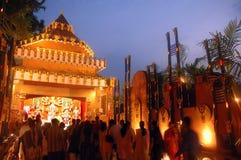 Het Festival van idool-Durga van de Klei van India Royalty-vrije Stock Foto