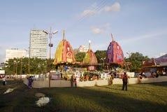 Het Festival van ISKON Rath Yatra Stock Fotografie