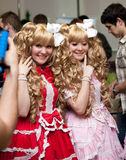 Het festival van Japanner knalt Cultuur in Moskou 2010 Stock Fotografie