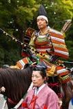 Het festival van Jidaimatsuri in Kyoto, Japan Stock Afbeeldingen