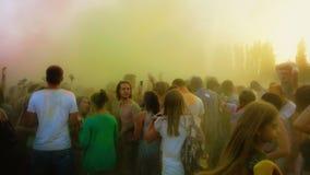 Het festival van kleuren Holi Stock Afbeelding