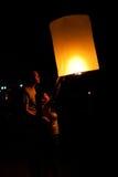 Het festival van Krathong van Loy Royalty-vrije Stock Foto's