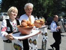 Het festival van Lemko culture_2 Royalty-vrije Stock Foto