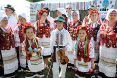 Het festival van Lemko-cultuur Stock Foto's