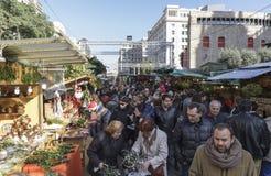 Het Festival van Llucia van de kerstman Royalty-vrije Stock Fotografie
