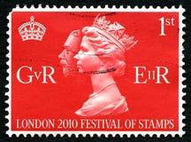 Het Festival van Londen 2010 van Zegels Britse Port Royalty-vrije Stock Foto's
