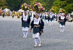 Het festival van Matsuri van Jidai Stock Foto's