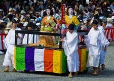 Het festival van Matsuri van Jidai Royalty-vrije Stock Foto