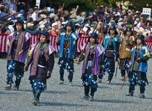 Het festival van Matsuri van Jidai Royalty-vrije Stock Foto's