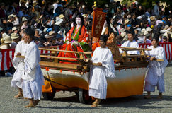 Het festival van Matsuri van Jidai Stock Fotografie