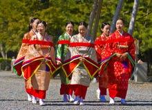Het festival van Matsuri van Jidai Stock Afbeelding