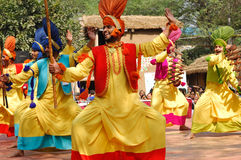 Het festival van Mela van de Ambachten van Surajkund royalty-vrije stock foto