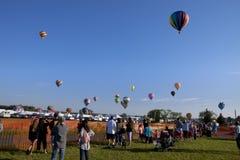 Het Festival van New Jersey Ballooning in Whitehouse-Post stock afbeeldingen