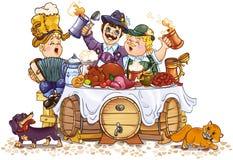 Het festival van Oktoberfest vector illustratie