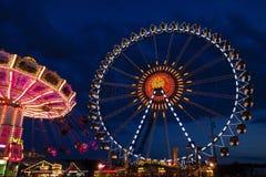 Het festival van het Oktoberfestbier in München, Duitsland Stock Afbeelding