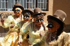 Het festival van Oruro stock afbeelding