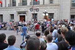 Het Festival van Ottawa Busker Stock Fotografie