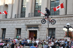 Het Festival van Ottawa Busker Stock Afbeelding