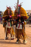 Het Festival van Otuoukpesose - Itu Maskerade in Nigeria Royalty-vrije Stock Foto's