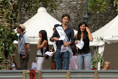 Het Festival van Pratolapeligna van de Druiven Royalty-vrije Stock Fotografie