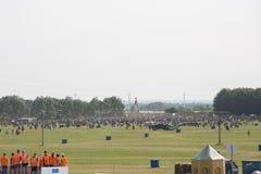 Het Festival 2016 van Roskilde - het Kamperen gebied het openen Royalty-vrije Stock Afbeelding