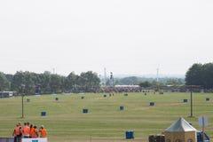 Het Festival 2016 van Roskilde - het Kamperen gebied het openen Stock Fotografie