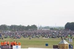 Het Festival 2016 van Roskilde - het Kamperen gebied het openen Stock Afbeeldingen