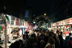 Het Festival van San Gennaro in NY stock afbeelding