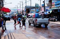 Het Festival van Songkran Royalty-vrije Stock Afbeeldingen