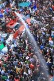 Het festival van Songkran in Bangkok, Thailand Royalty-vrije Stock Fotografie