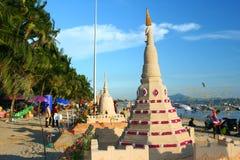 Het festival van Songkran op 17 Oktober, 2009. Royalty-vrije Stock Afbeeldingen