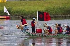 2013 het festival van Taipeh Dragon Boat Stock Afbeeldingen