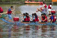 2013 het festival van Taipeh Dragon Boat Royalty-vrije Stock Foto