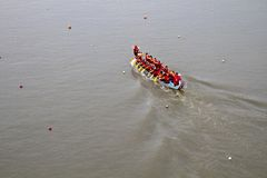 2013 het festival van Taipeh Dragon Boat Stock Fotografie